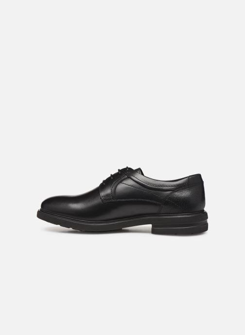 Chaussures à lacets Mephisto Olivio Noir vue face