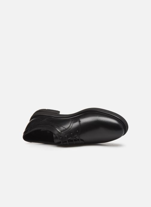 Scarpe con lacci Mephisto Olivio Nero immagine sinistra