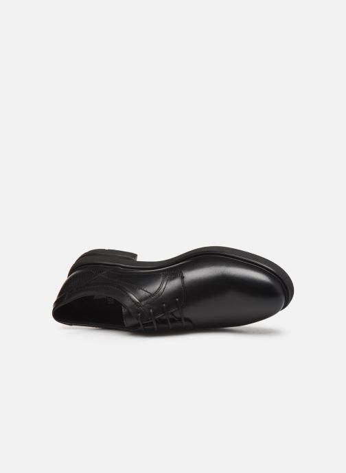 Chaussures à lacets Mephisto Olivio Noir vue gauche