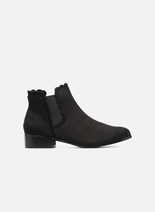 Ankle boots Divine Factory LH1730-4 Black back view