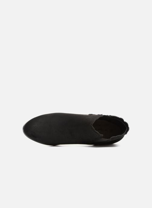 Bottines et boots Divine Factory LH1730-4 Noir vue gauche