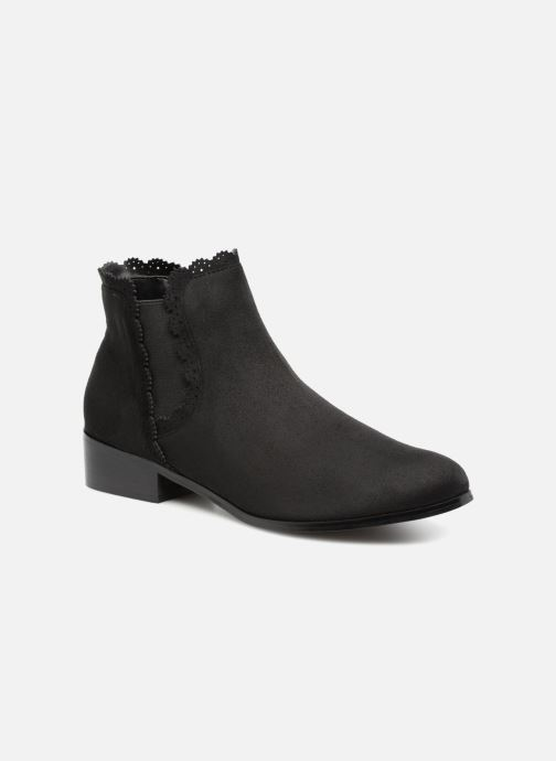 Ankle boots Divine Factory LH1730-4 Black detailed view/ Pair view