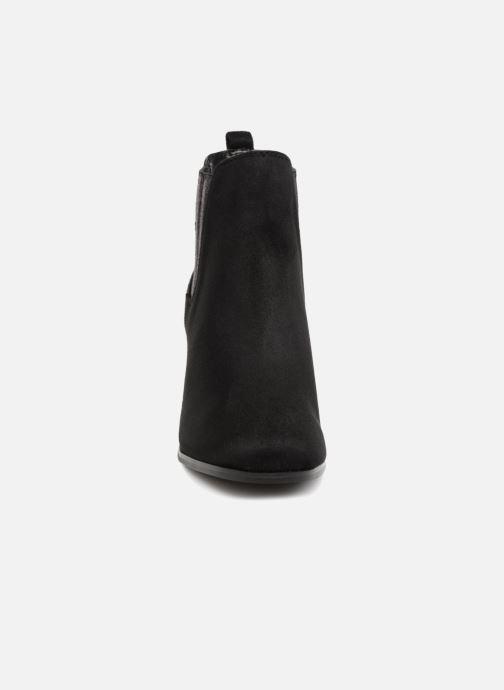 Bottines et boots Divine Factory QL3428 Noir vue portées chaussures
