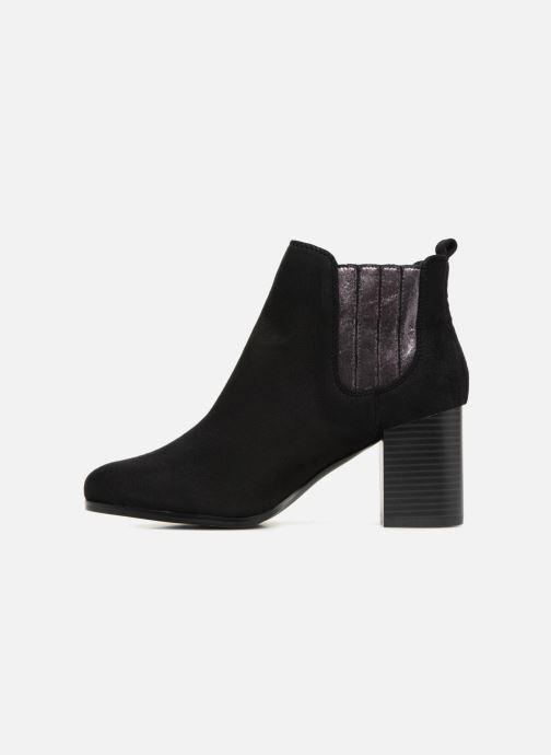 Bottines et boots Divine Factory QL3428 Noir vue face