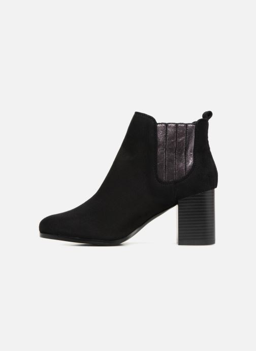 Bottines et boots Divine Factory QL3428 Noir vue face