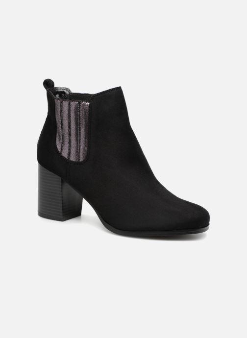 Ankelstøvler Divine Factory QL3428 Sort detaljeret billede af skoene