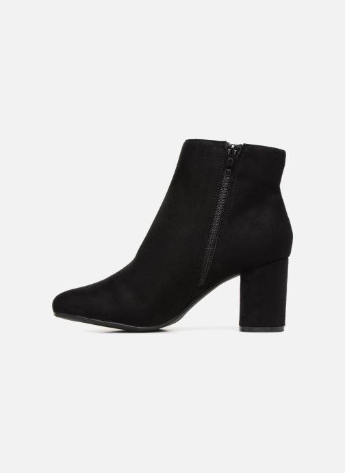 Bottines et boots Divine Factory QL3430 Noir vue face