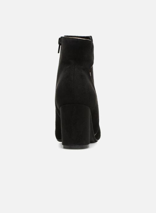 Bottines et boots Divine Factory QL3430 Noir vue droite