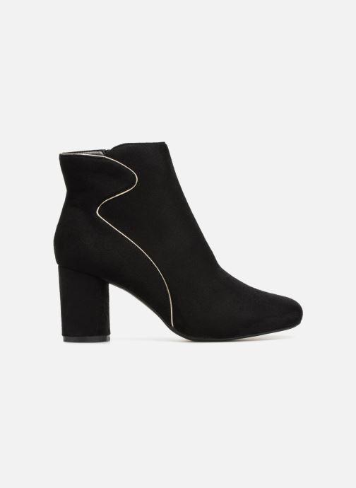Boots en enkellaarsjes Divine Factory QL3430 Zwart achterkant