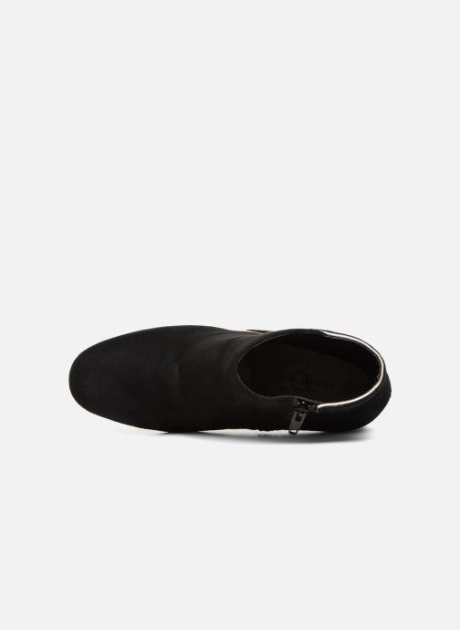 Bottines et boots Divine Factory QL3430 Noir vue gauche