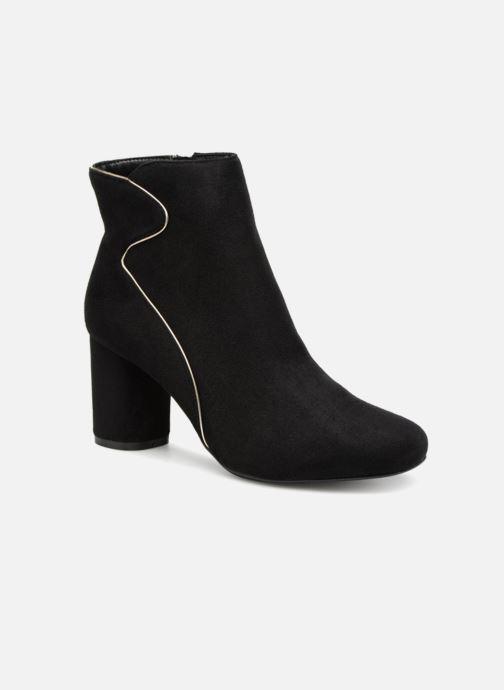 Boots en enkellaarsjes Divine Factory QL3430 Zwart detail
