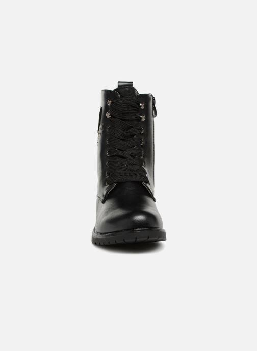 Boots en enkellaarsjes Divine Factory TE3321 Zwart model