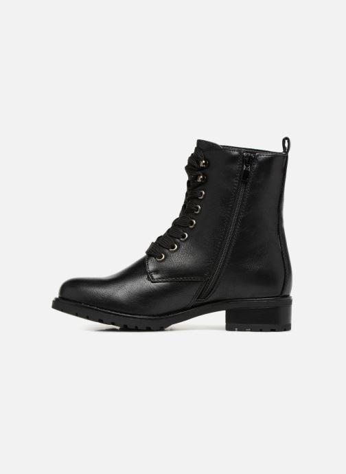 Boots en enkellaarsjes Divine Factory TE3321 Zwart voorkant