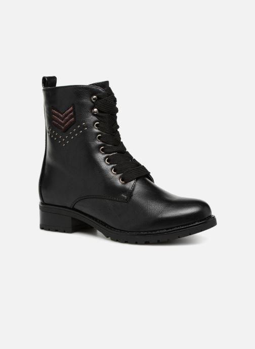 Boots en enkellaarsjes Divine Factory TE3321 Zwart detail