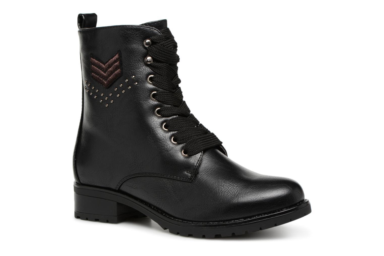 Zapatos casuales salvajes  Divine Factory TE3321 en (Negro) - Botines  en TE3321 Más cómodo 82a08d
