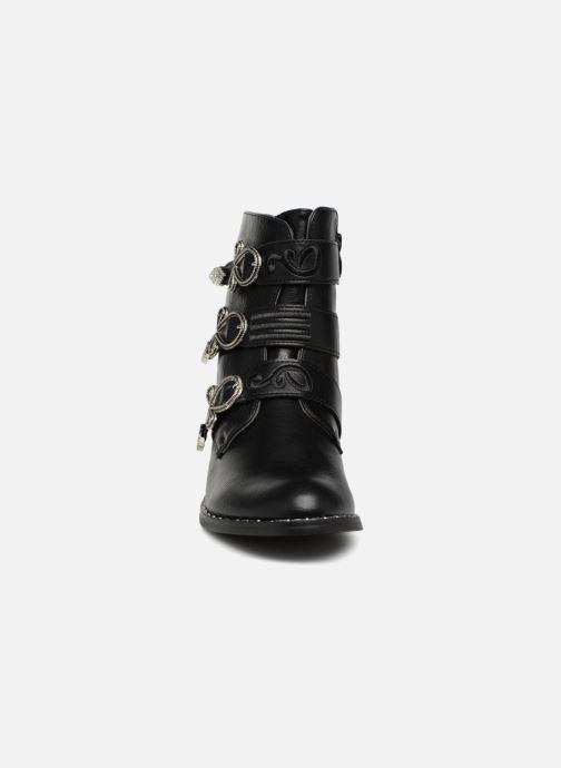 Boots en enkellaarsjes Divine Factory TE3317 Zwart model