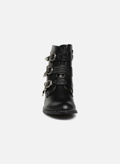 Bottines et boots Divine Factory TE3317 Noir vue portées chaussures