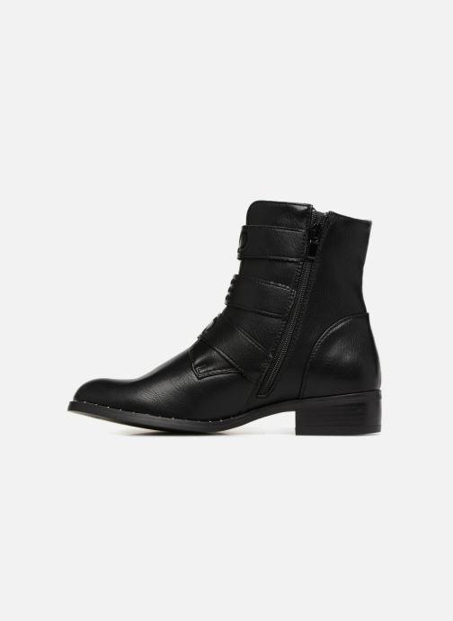 Boots en enkellaarsjes Divine Factory TE3317 Zwart voorkant