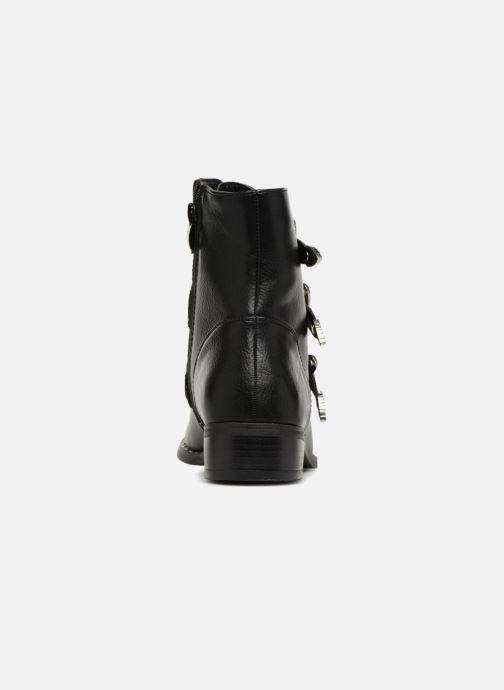 Boots en enkellaarsjes Divine Factory TE3317 Zwart rechts