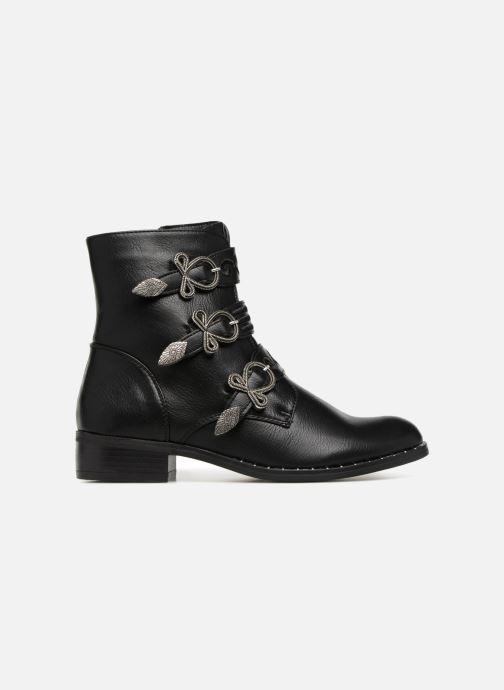 Boots en enkellaarsjes Divine Factory TE3317 Zwart achterkant