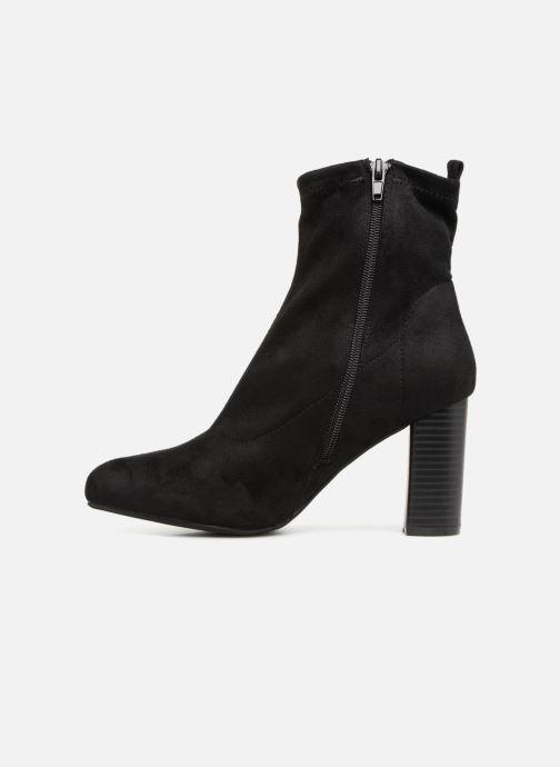 Boots en enkellaarsjes Divine Factory LH1732D-23 Zwart voorkant