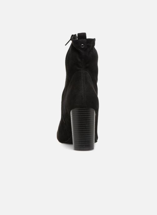 Bottines et boots Divine Factory LH1732D-23 Noir vue droite
