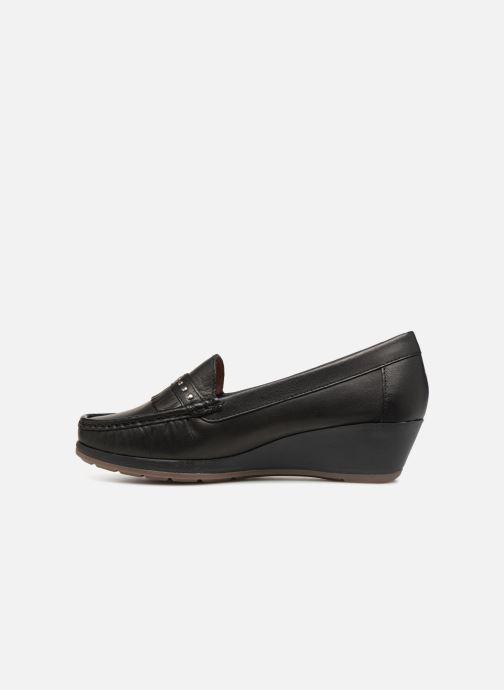 Loafers Damart Alba Sort se forfra