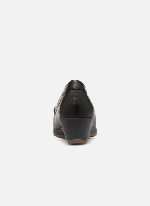 Loafers Damart Alba Black view from the right
