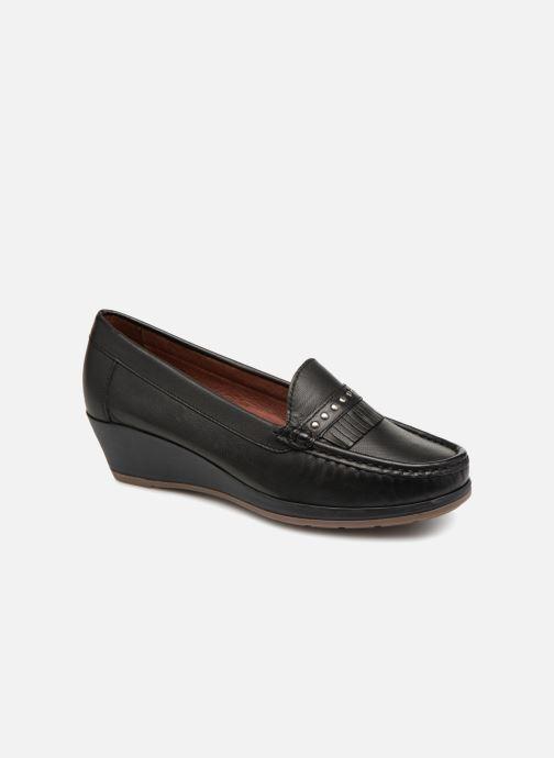 Loafers Damart Alba Sort detaljeret billede af skoene
