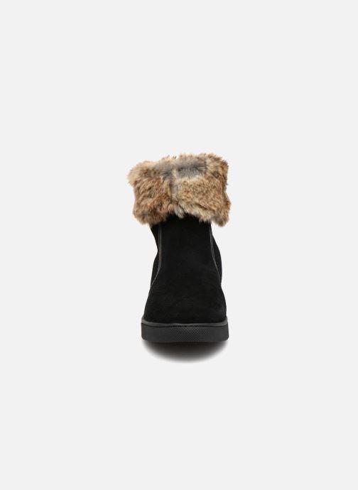 Bottines et boots Damart Agathe Thermolactyl Noir vue portées chaussures