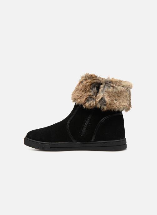 Bottines et boots Damart Agathe Thermolactyl Noir vue face