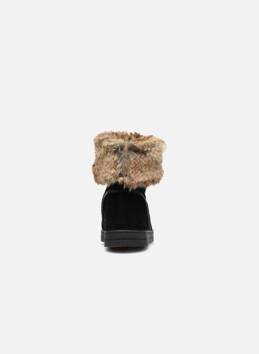 Bottines et boots Damart Agathe Thermolactyl Noir vue droite