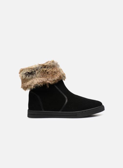 Bottines et boots Damart Agathe Thermolactyl Noir vue derrière