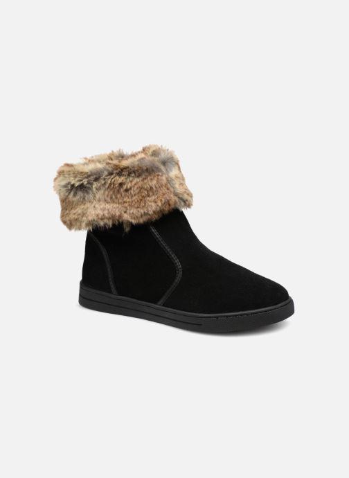 Bottines et boots Damart Agathe Thermolactyl Noir vue détail/paire