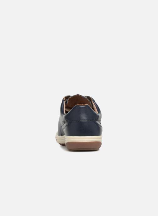 Sneaker Damart Aglae Amortyl blau ansicht von rechts