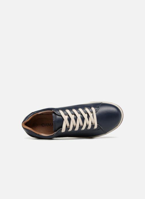 Sneaker Damart Aglae Amortyl blau ansicht von links