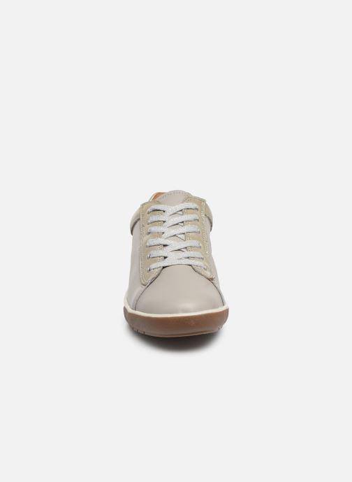 Baskets Damart Aglae Amortyl Gris vue portées chaussures