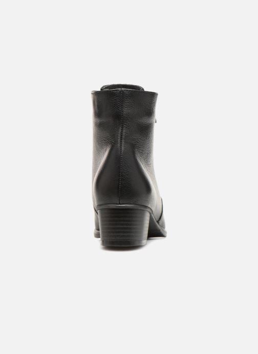 Bottines et boots Damart Alice Thermolactyl Noir vue droite