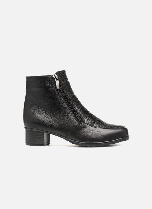 Bottines et boots Damart Alice Thermolactyl Noir vue derrière