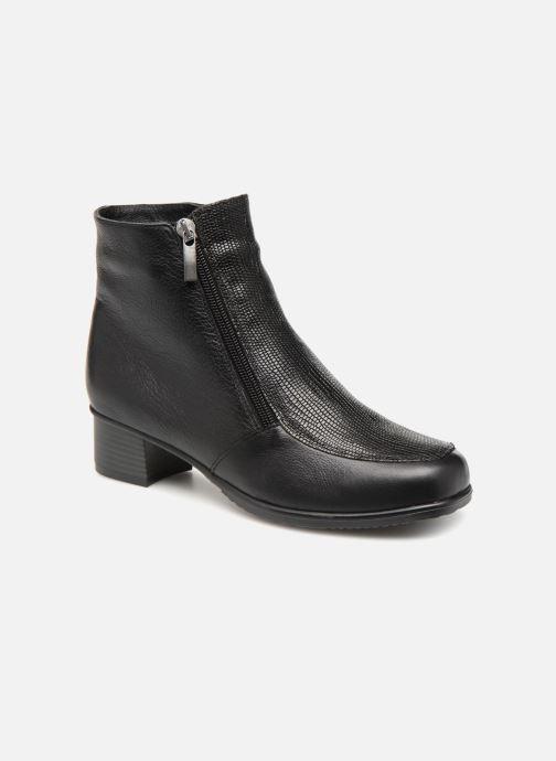 Ankelstøvler Damart Alice Thermolactyl Sort detaljeret billede af skoene