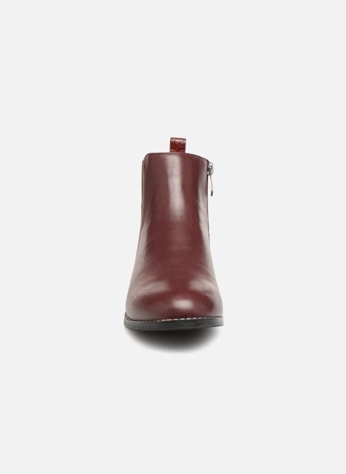 Stiefeletten & Boots Damart Alizee rot schuhe getragen
