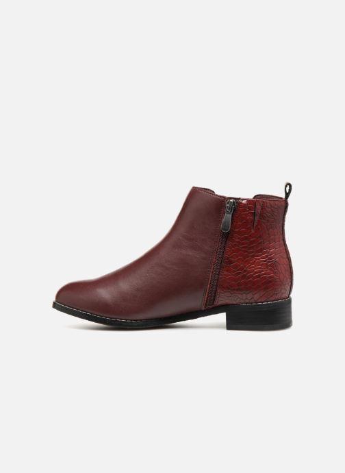 Stiefeletten & Boots Damart Alizee rot ansicht von vorne