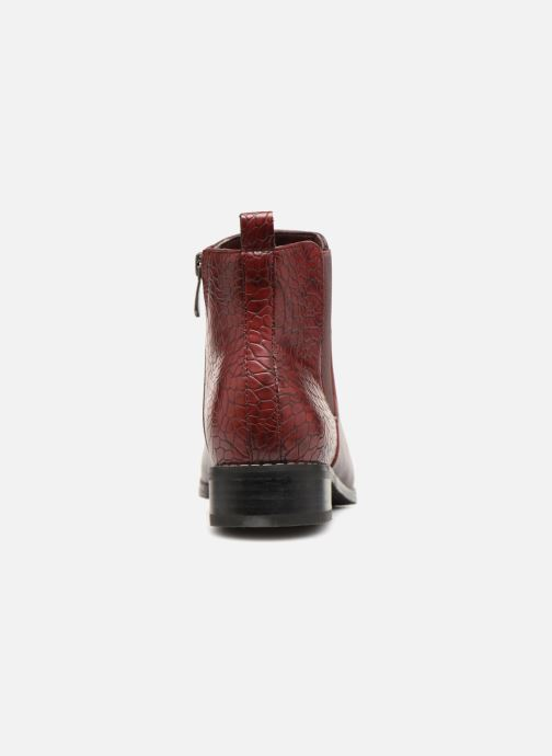 Stiefeletten & Boots Damart Alizee rot ansicht von rechts