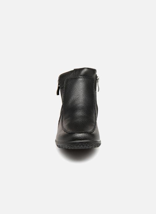 Bottines et boots Damart Amanda Noir vue portées chaussures