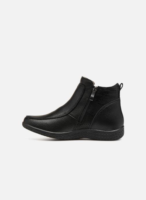 Bottines et boots Damart Amanda Noir vue face
