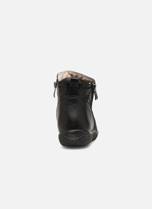 Bottines et boots Damart Amanda Noir vue droite
