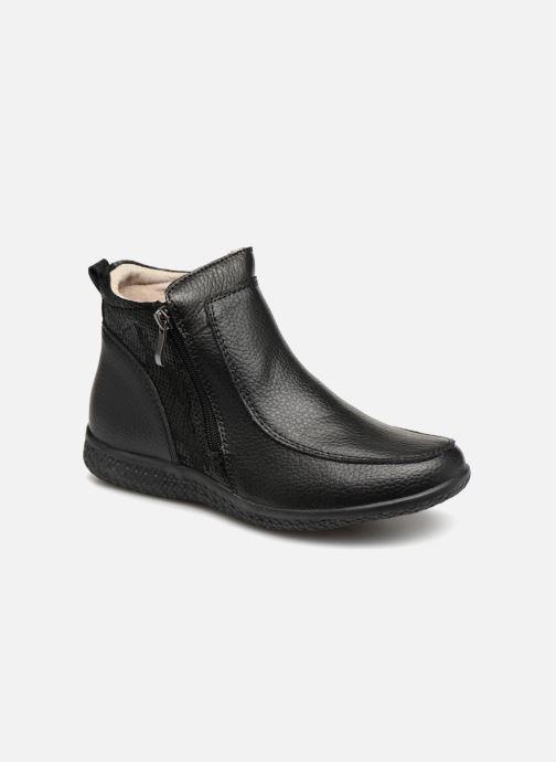 Bottines et boots Damart Amanda Noir vue détail/paire