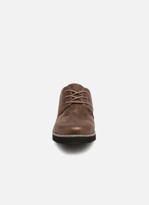 Chaussures à lacets Damart Anais Or et bronze vue portées chaussures