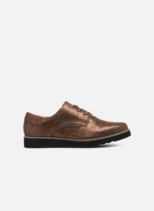 Chaussures à lacets Damart Anais Or et bronze vue derrière