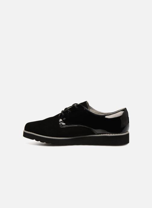 Zapatos con cordones Damart Anais Negro vista de frente